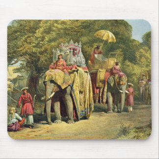 The Governor-General's State Howdah, 1863 (chromol Mouse Pad