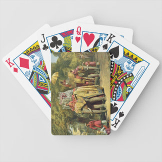 The Governor-General's State Howdah, 1863 (chromol Bicycle Poker Deck