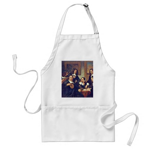 The Governors Of The Guild Of St. Luke Haarlem 167 Apron