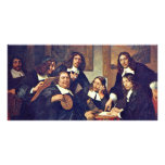 The Governors Of The Guild Of St. Luke Haarlem 167 Photo Card