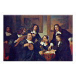 The Governors Of The Guild Of St. Luke Haarlem 167 Poster