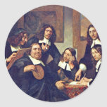 The Governors Of The Guild Of St. Luke Haarlem 167 Stickers
