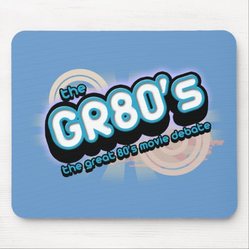 The GR80s Color Logo Mouse Pad