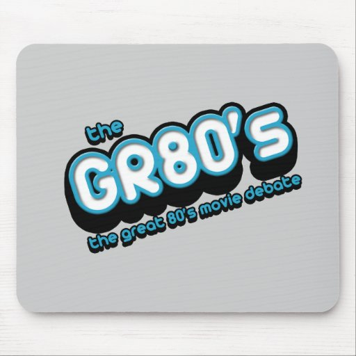 The GR80s Logo Mouse Pad