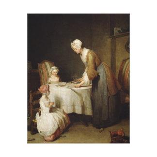 The Grace, 1740 2 Canvas Print
