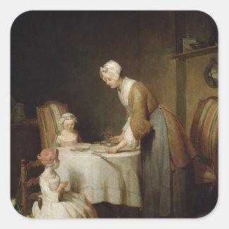 The Grace, 1740 2 Square Sticker