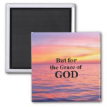 The Grace of God. 2 Inch Square Magnet