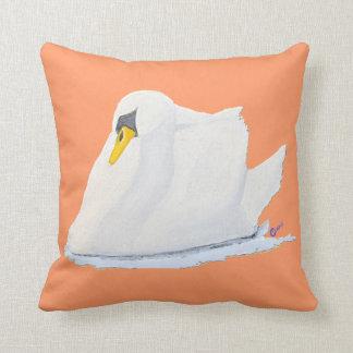 The Graceful Swan Pillow