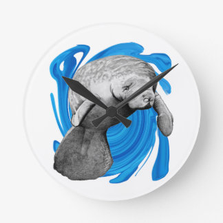 THE GRACEFUL WAY ROUND WALL CLOCK