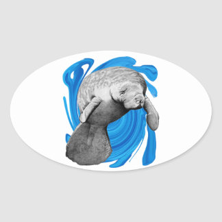 THE GRACEFUL WAY OVAL STICKER