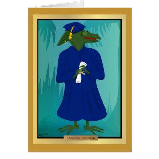 The Graduate Age Dinosaur Card
