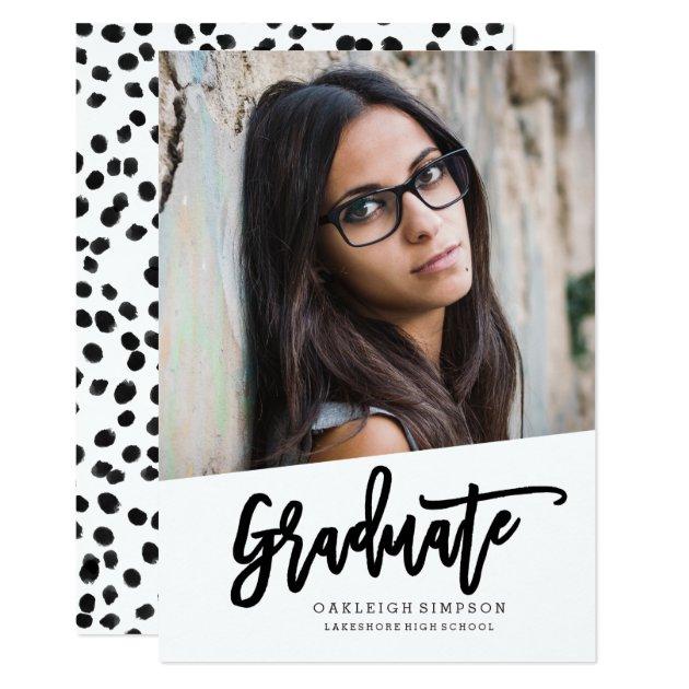 The Graduate Artistic Announcement