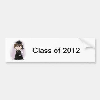 The Graduate! Bumper Sticker Car Bumper Sticker
