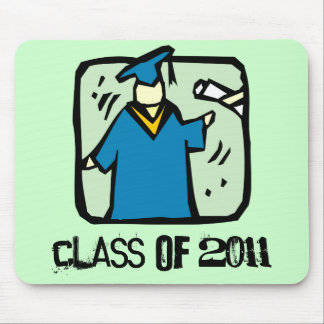 The Graduate Class of 2011 Graduation Mousepad