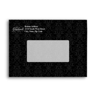 The Graduate, Elegant Black Envelopes
