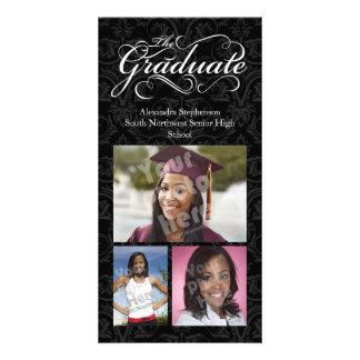 The Graduate, Elegant Black Graduation Card