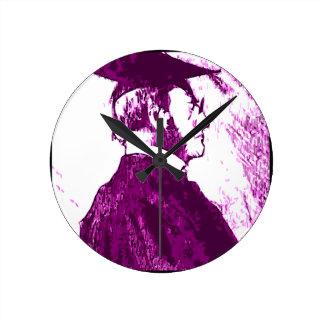 The Graduate Round Clock