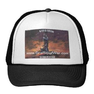 The Graffiti of War Apparel Trucker Hat