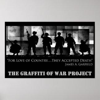The Graffiti of War-No Limits Graphix Print