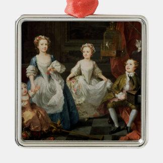 The Graham Children, 1742 Metal Ornament