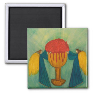 The Grail 2 Inch Square Magnet