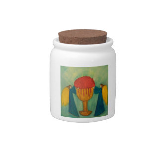 The Grail Candy Jars