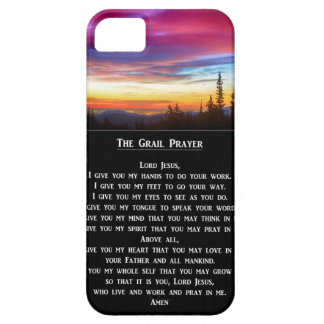 The Grail Prayer iPhone SE/5/5s Case