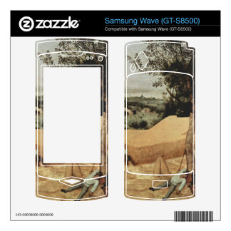 The grain harvest by Pieter Bruegel Samsung Wave Skins