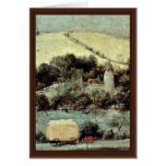 The Grain Harvest Month (August) Detail By Bruegel Cards
