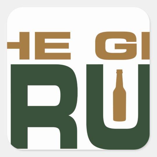 The Grain Trust Logo - Color Square Sticker