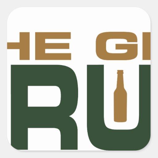 The Grain Trust Logo - Color Stickers