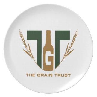 The Grain Trust Logo - Square - Color Plate