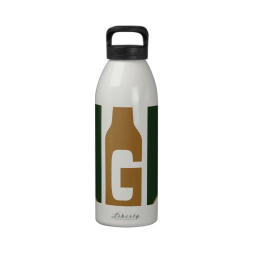 The Grain Trust Logo - Square - Color Reusable Water Bottle