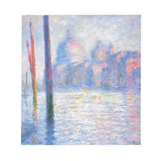 The Grand Canal 02 by Claude Monet Notepad