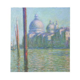 The Grand Canal 03 by Claude Monet Notepad