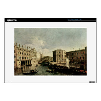 "The Grand Canal at Rialto by Canaletto 15"" Laptop Skin"
