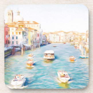 The Grand Canal Beverage Coaster