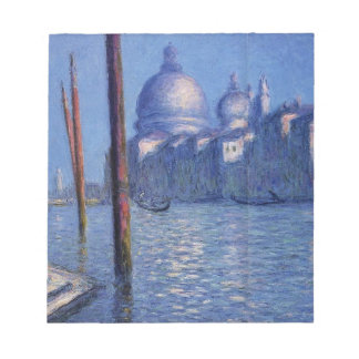 The Grand Canal by Claude Monet Notepad