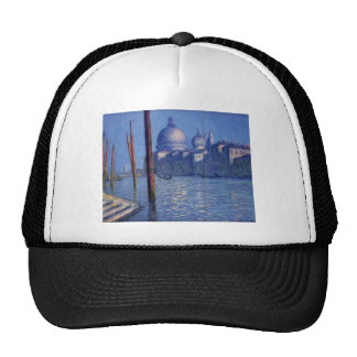 The Grand Canal by Claude Monet Trucker Hat