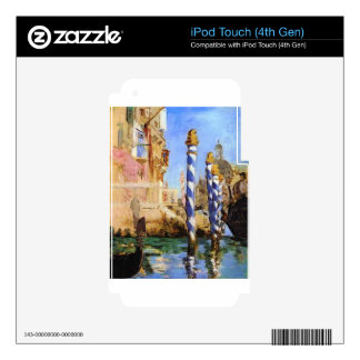 The Grand Canal by Edouard Manet iPod Touch 4G Skin