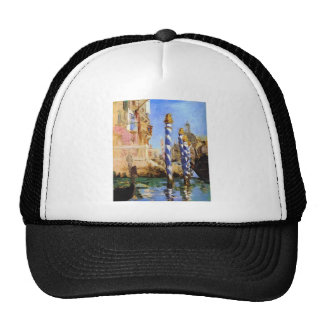 The Grand Canal by Edouard Manet Trucker Hat