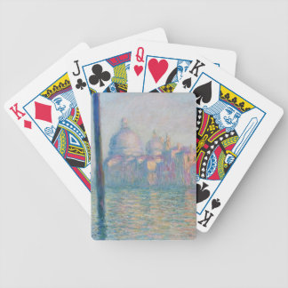 The Grand Canal by Monet Bicycle Playing Cards