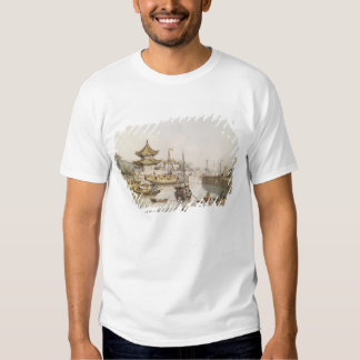 The Grand Canal, China, (w/c) T-Shirt
