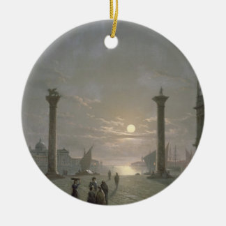 The Grand Canal From Piazza San Marco Christmas Tree Ornament
