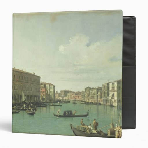 The Grand Canal from the Rialto Bridge Binder