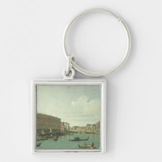 The Grand Canal from the Rialto Bridge Keychain