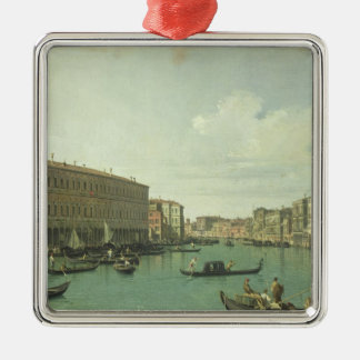 The Grand Canal from the Rialto Bridge Christmas Tree Ornament