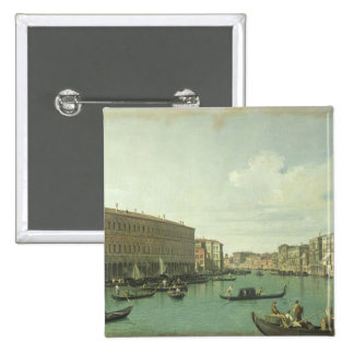 The Grand Canal from the Rialto Bridge Pinback Button