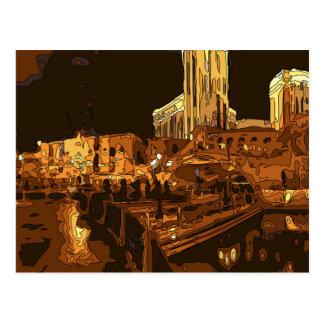 The Grand Canal in the Venetian, Las Vegas Nevada Postcard