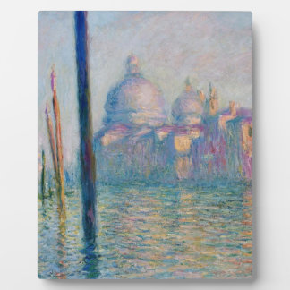 The Grand Canal in Venice 01 by Claude Monet Plaque